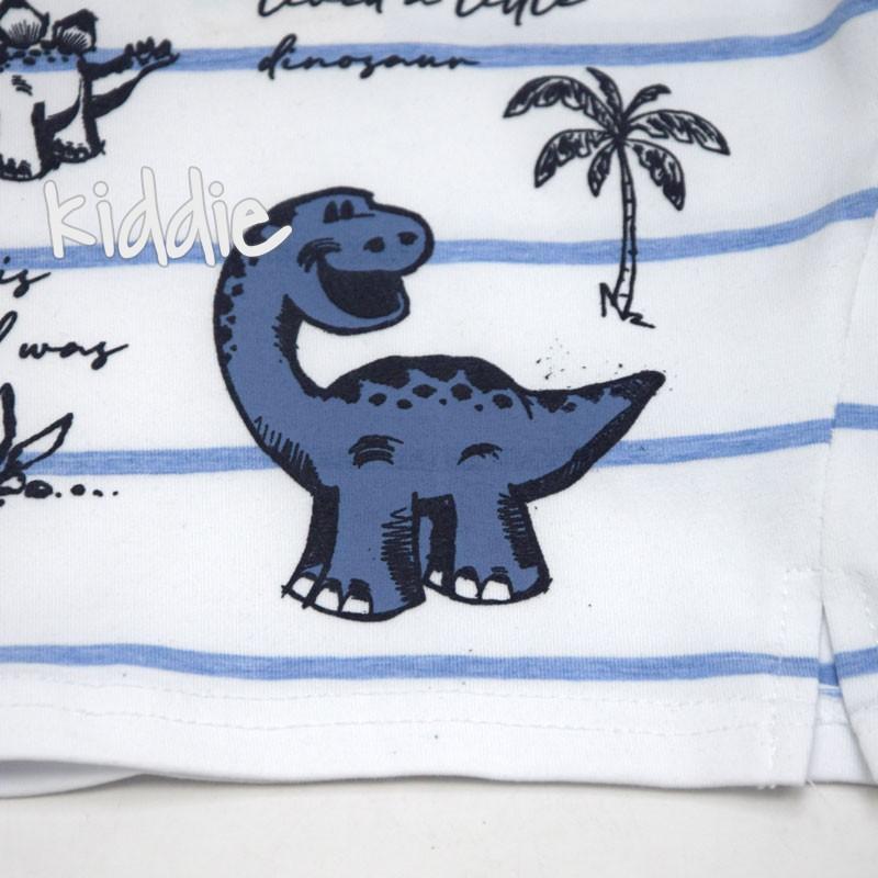 Бебешки комплект Mackays с динозаври за момче
