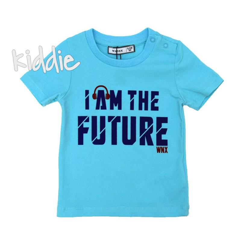Бебешка тениска Wanex I am the future за момче