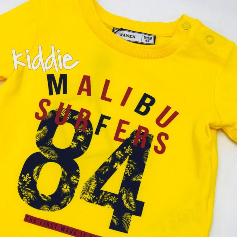Бебешка тениска Wanex Maliby за момче