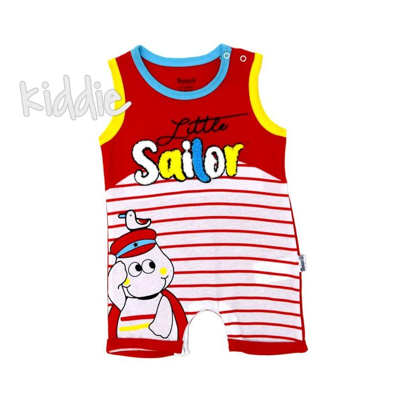 Бебешки гащеризон Miniworld Sailor за момче