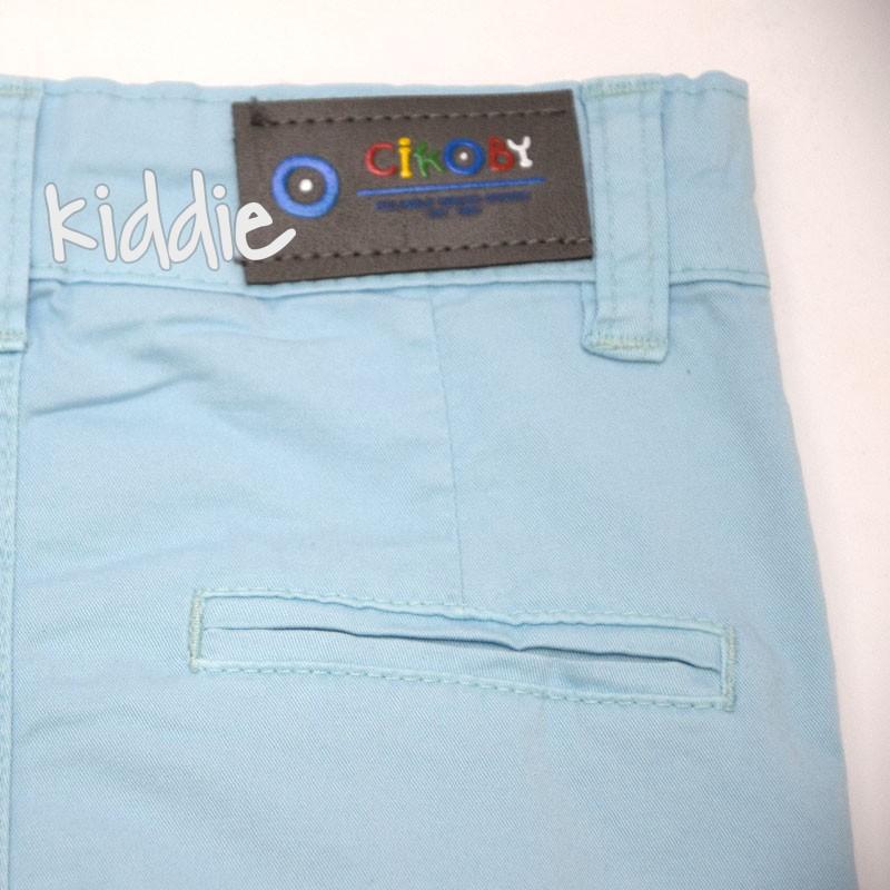 Бебешки панталон Cikoby за момче с италиански джоб