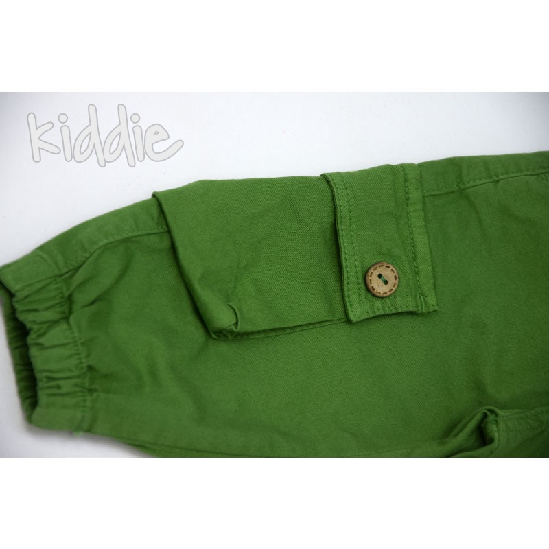 Бебешки панталон Cikoby за момче с джобове