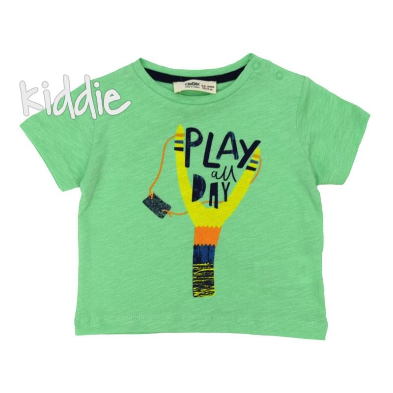 Бебешка тениска Play Cikoby