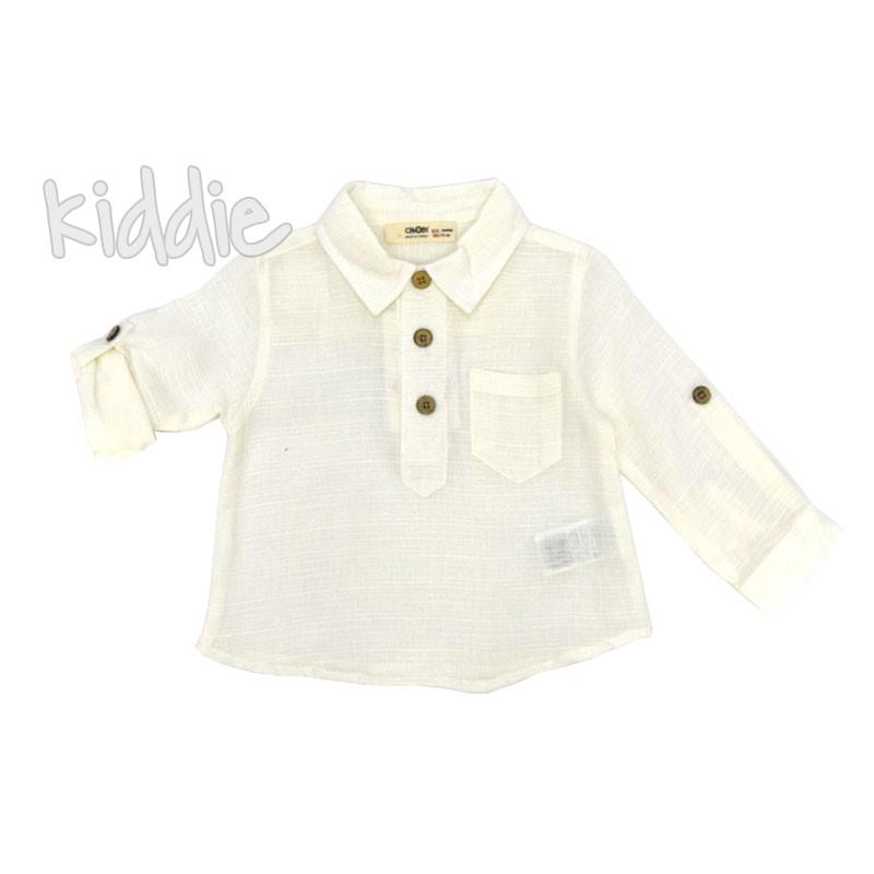 Бебешка риза Cikoby момче