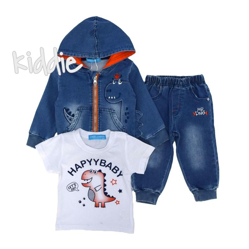 Бебешки комплект Happy Baby Sweet Junior за момче