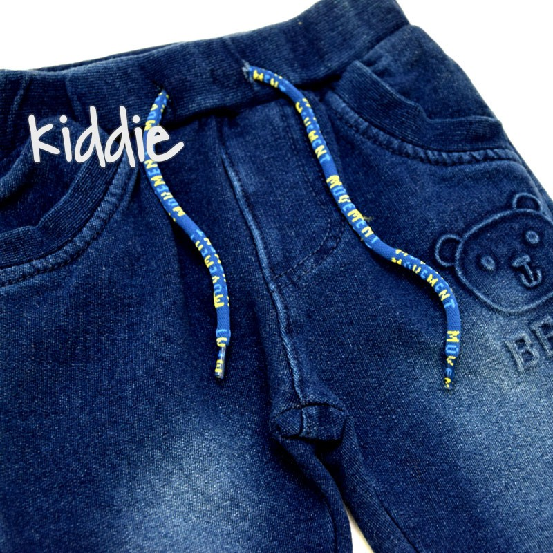 Бебешко дънково долнище Repanda Bear за момче