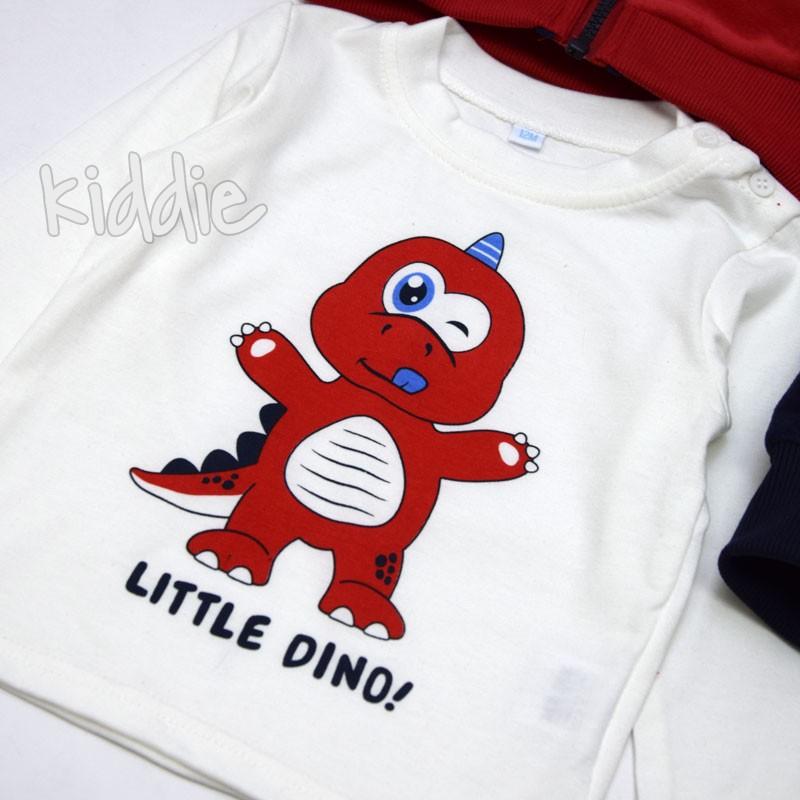 Бебешки комплект Динозавър Mr Jek за момче