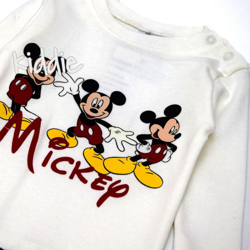 Бебешки комплект Мики Маус Elakоn Baby за момче