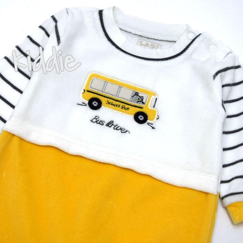 Бебешки гащеризон Bus Ddwer Ladi за момче