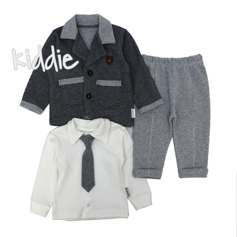 Бебешки комплект Modimix за момче със сако