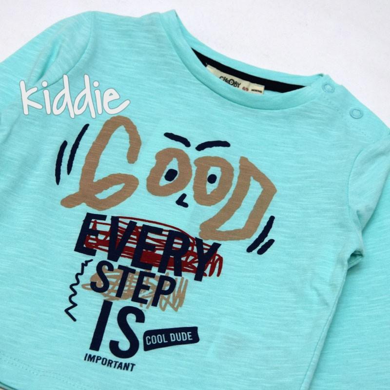 Бебешка блуза Good Every Cikoby за момче