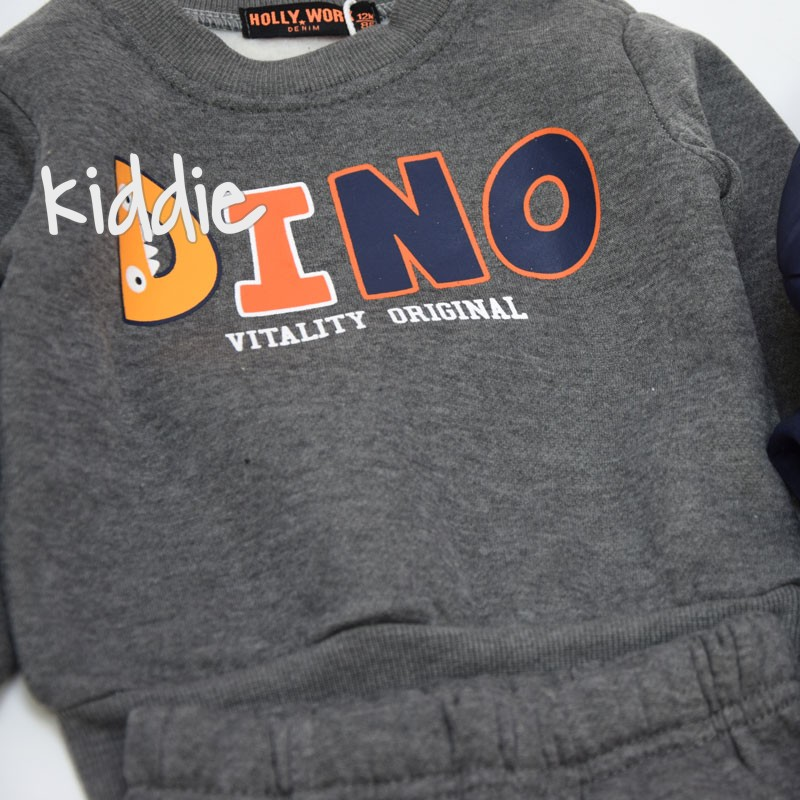 Бебешки комплект Dino Hollywork за момче