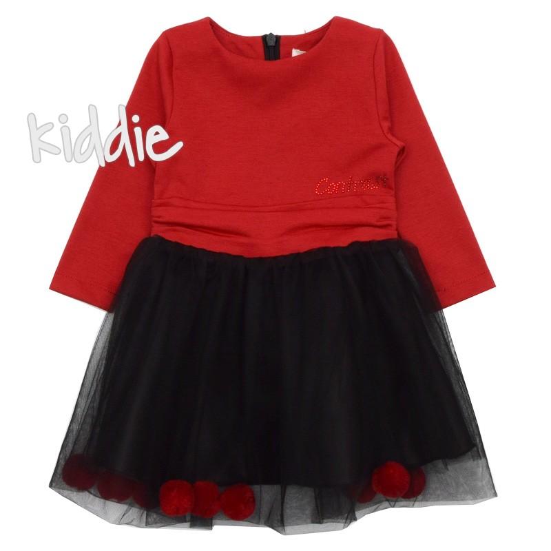 Бебешка рокля с тюл и понпони, Contrast