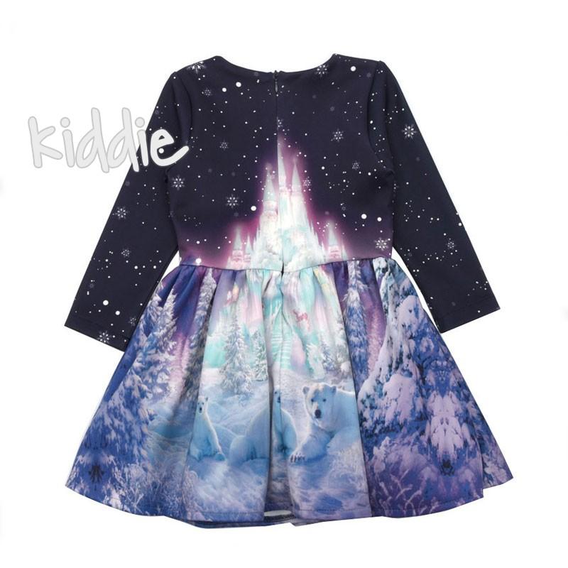 Бебешка рокля с принт Viki