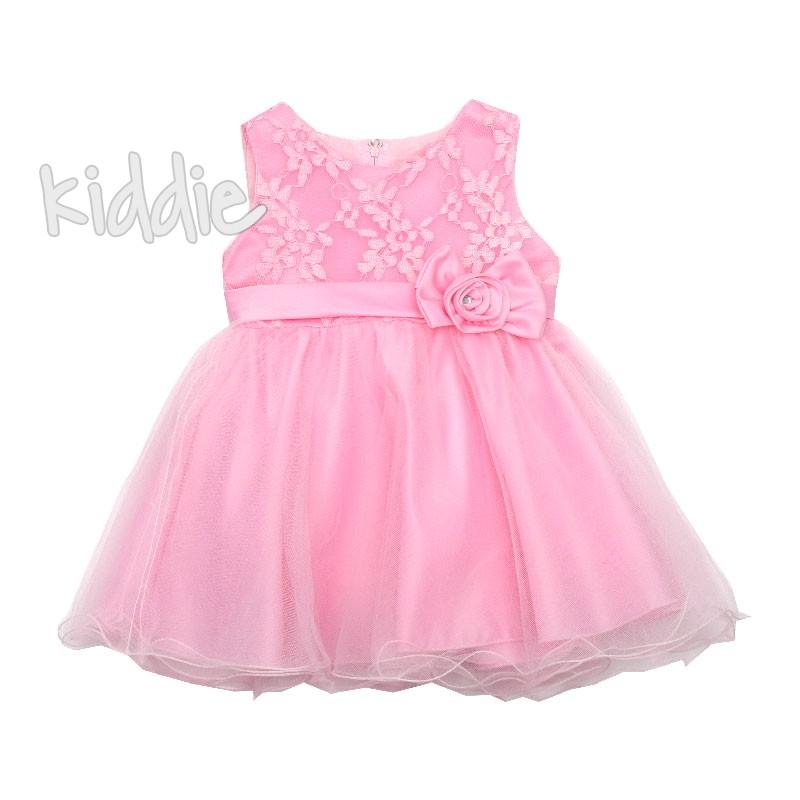 Бебешка рокля за момиче Pink Girl