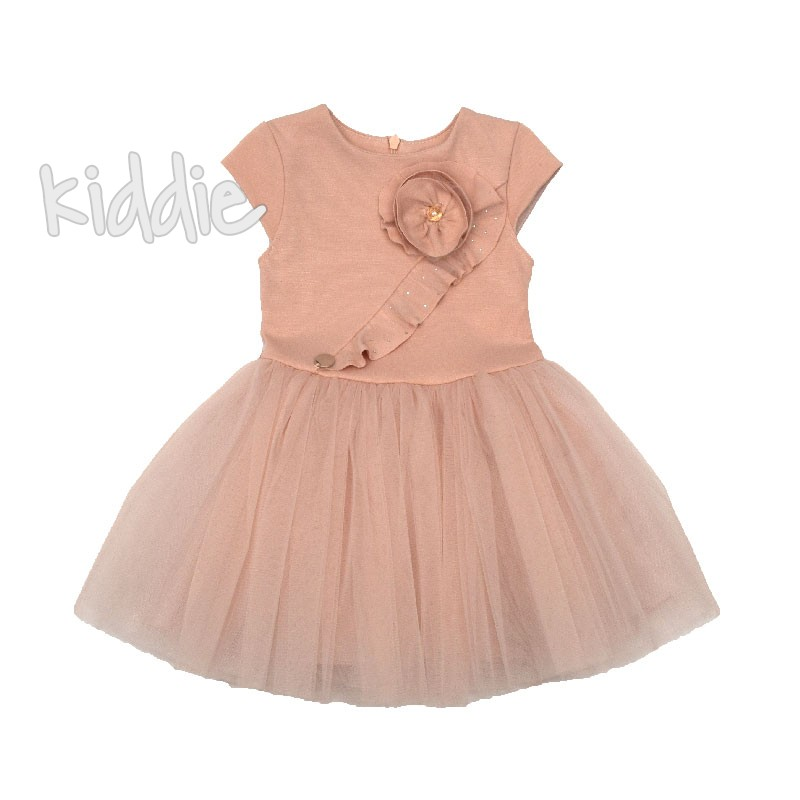 Бебешка рокля Contrast с тюл