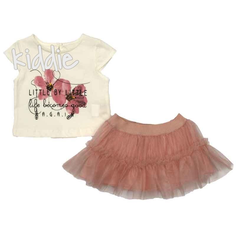 Бебешки комплект Little by Little, Cikoby за момиче