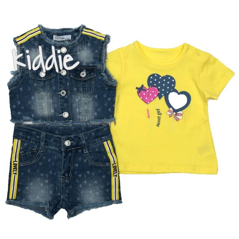 Бебешки комплект Lovely Lollitop за момиче