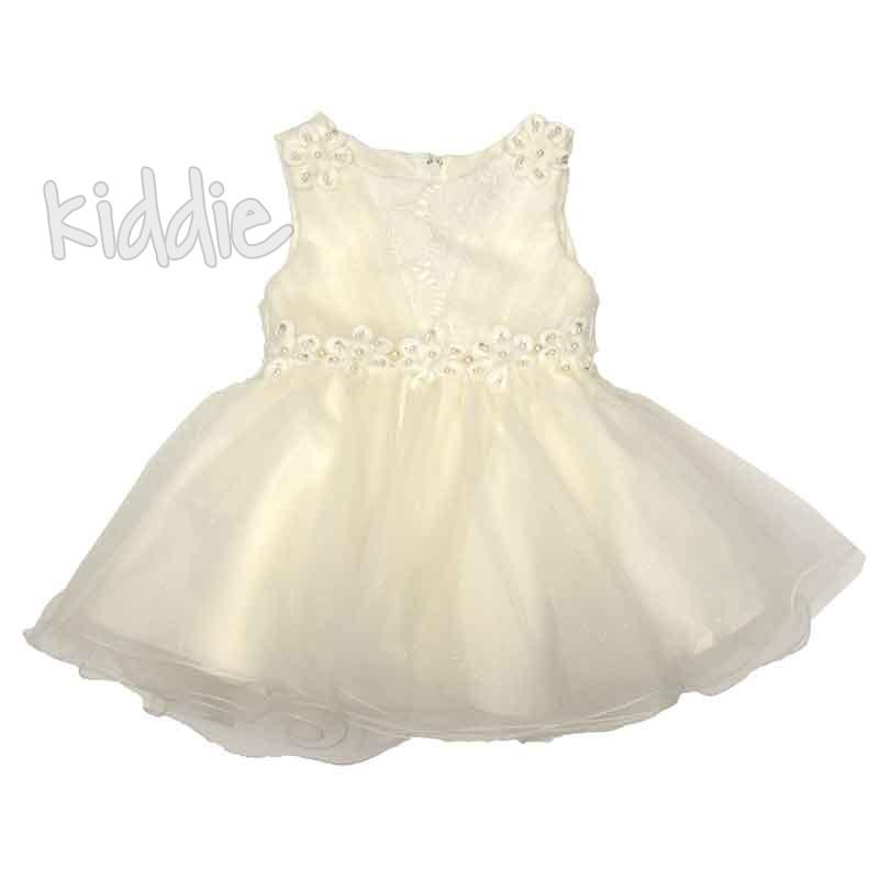 Бебешка елегантна рокля Pretty Baby с тюл