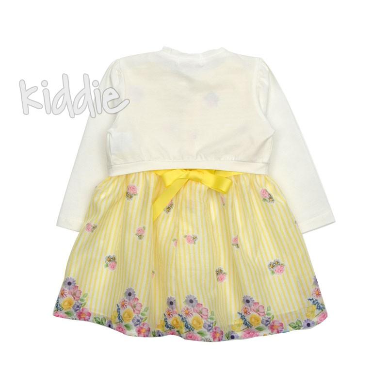 Бебешка рокля с болеро Miss Image за момиче