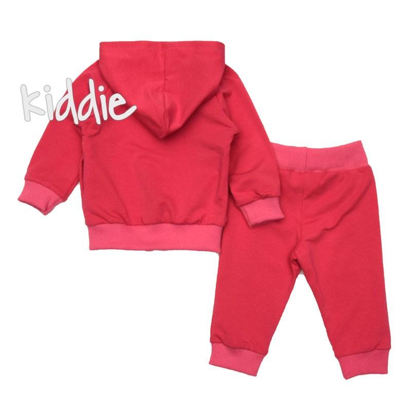 Бебешки комплект Sevtex за момиче с щампа
