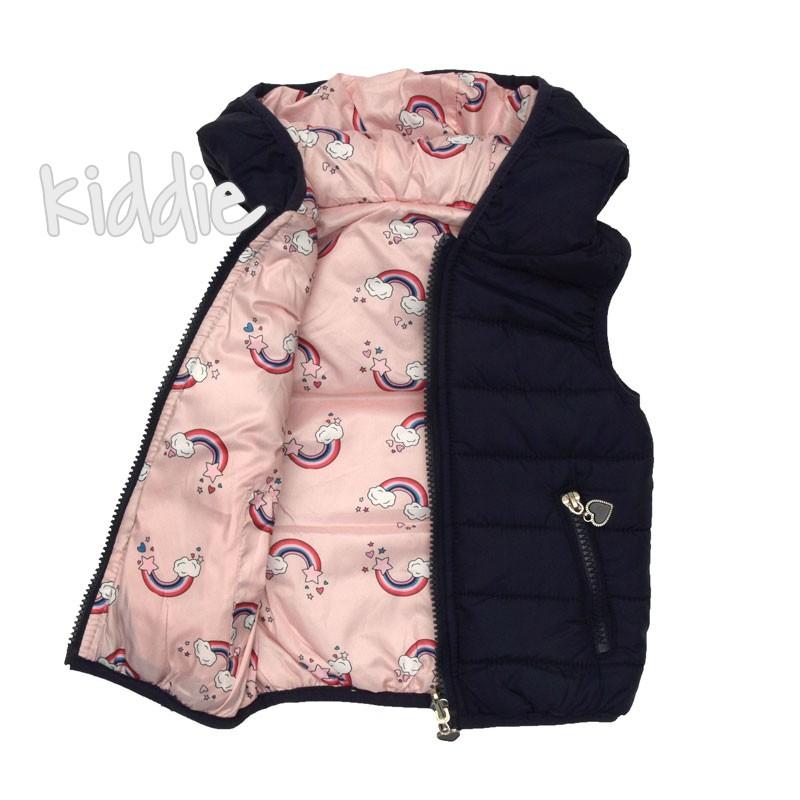 Бебешка грейка с две лица за момиче Pink Baby