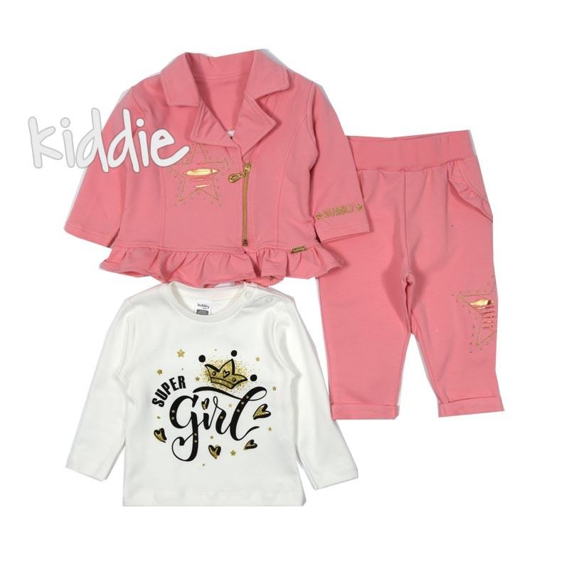 Бебешки комплект Bubbly със сако за момче