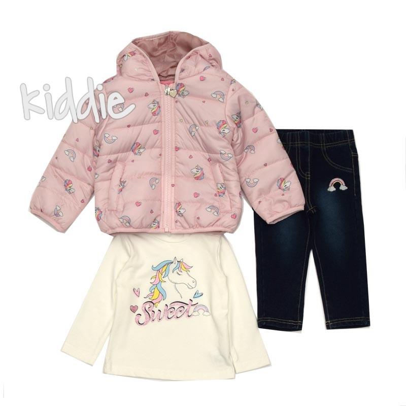 Бебешки комплект Pink Baby за момиче