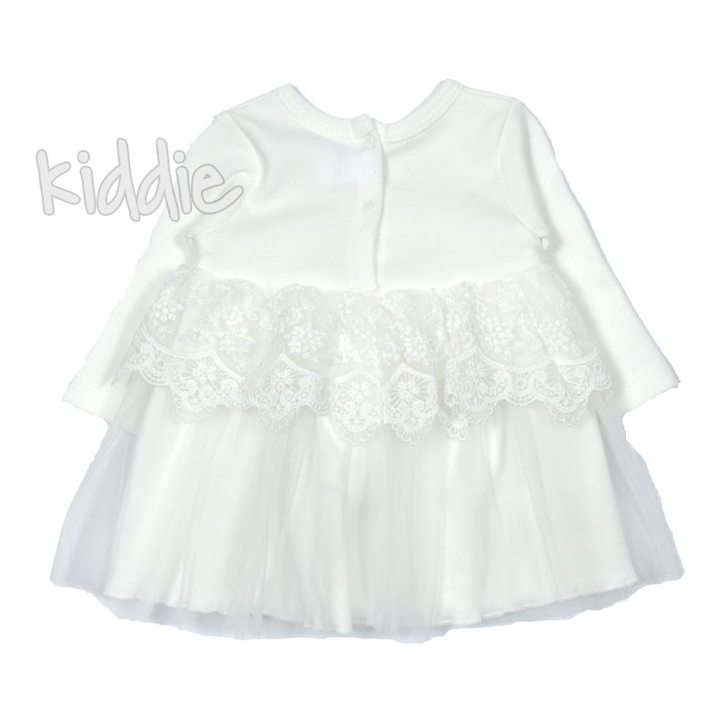 Бебешка рокля Taffy с мека дантела