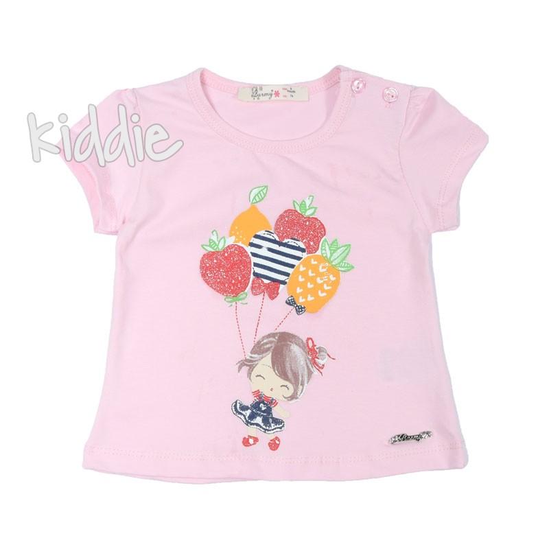 Бебешка тениска за момиче Barmy