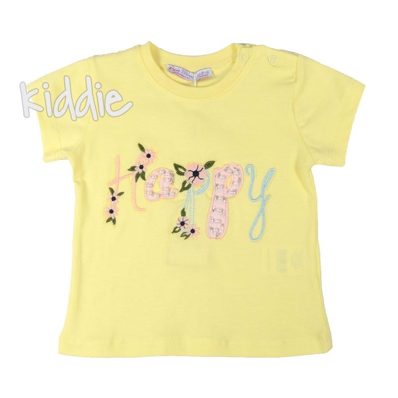 Бебешка тениска за момиче Happy, Masali