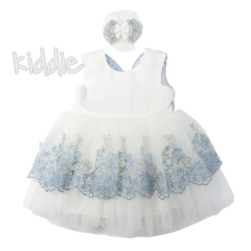 Официална бебешка рокля Pugi baby с фиба