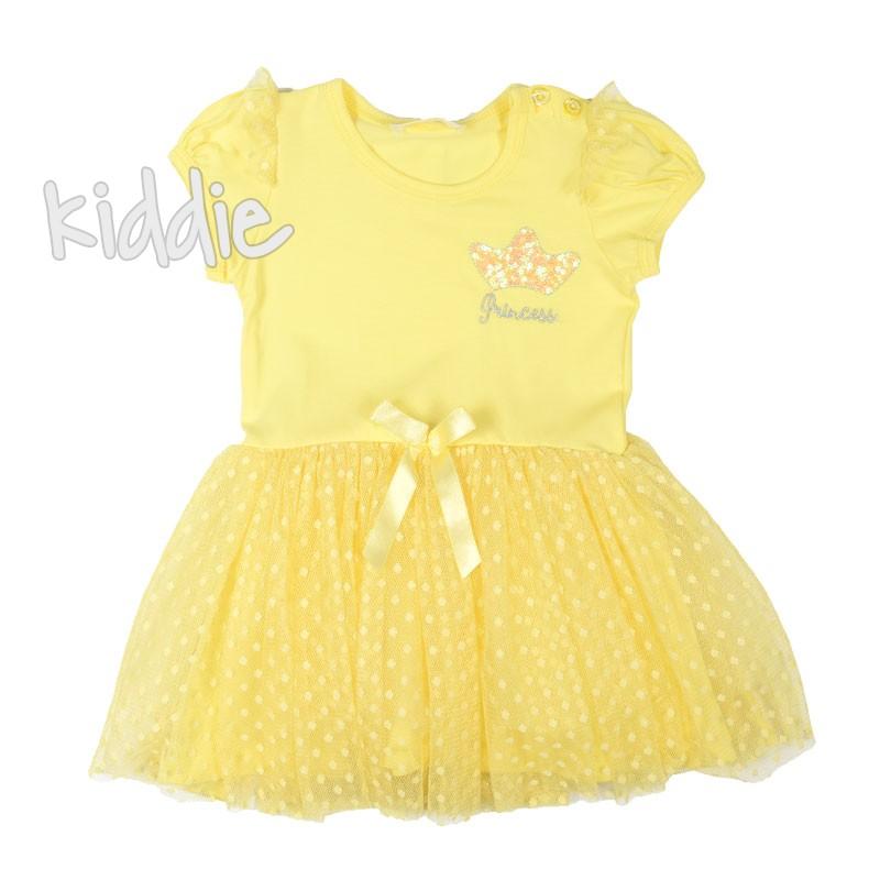 Детска рокля Breeze с тюл на точки