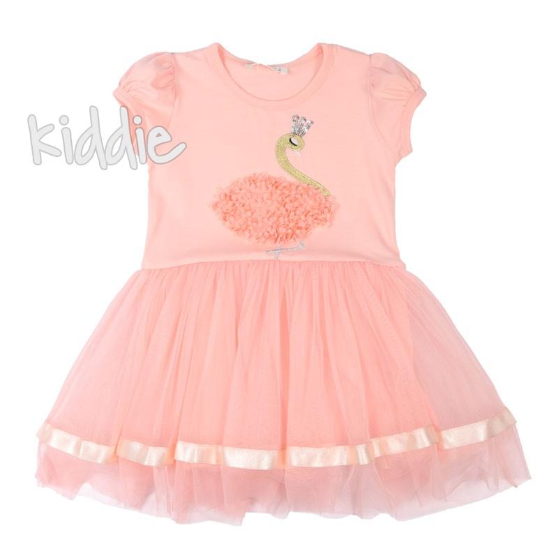 Детска рокля Breeze с лебед