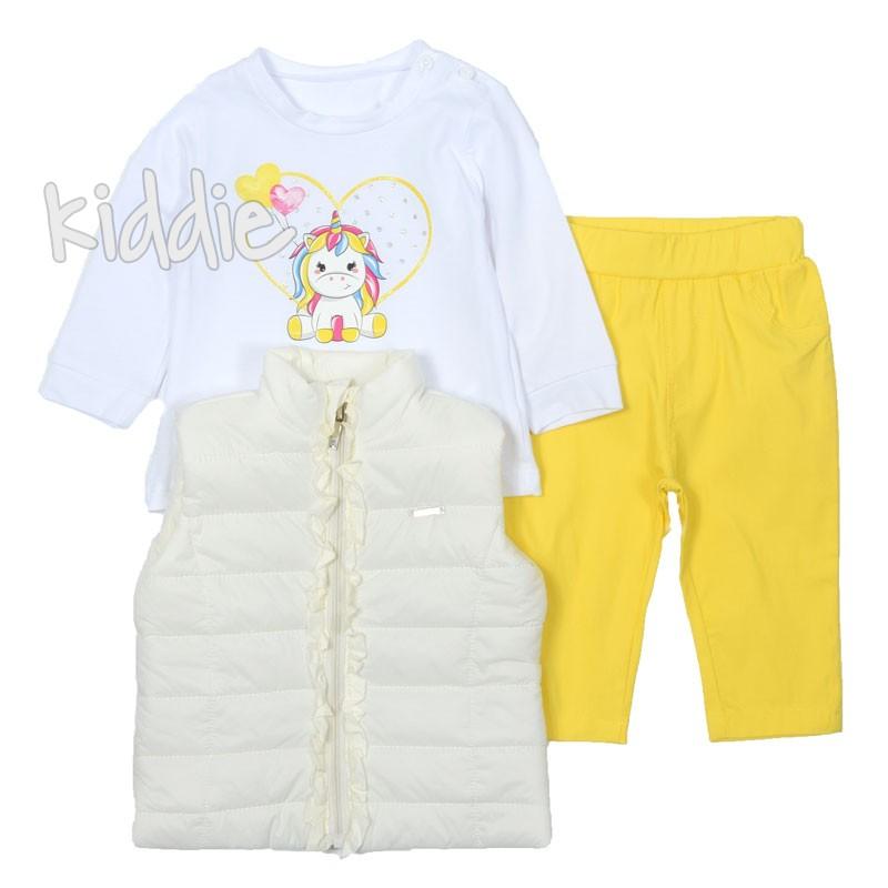 Бебешки комплект Lollitop Еднорог за момиче