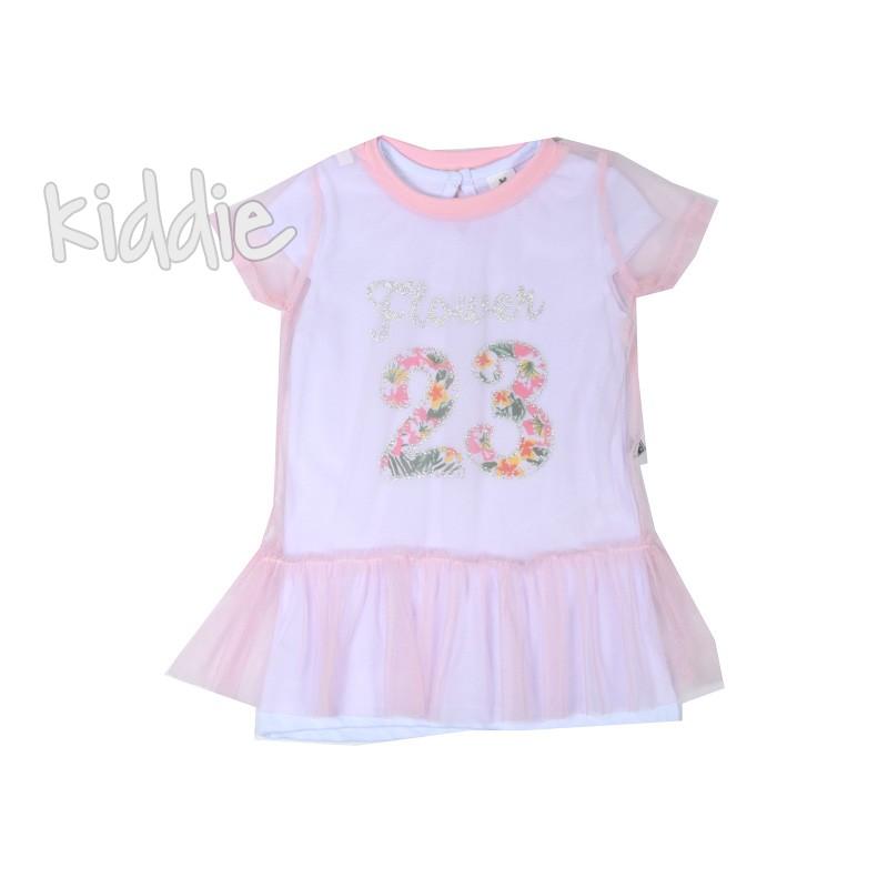 Бебешка рокля Flower 23 Bebico