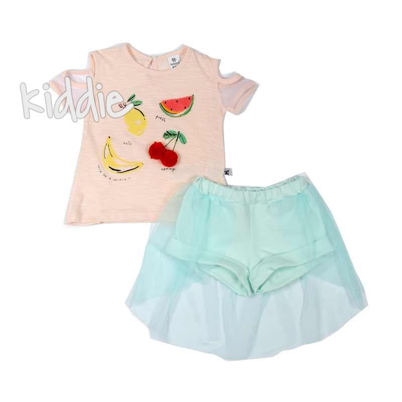 Бебешки комплект за момиче Bebico от две части