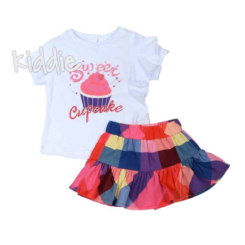 Бебешки комплект Sweet Cupcake Cikoby за момиче