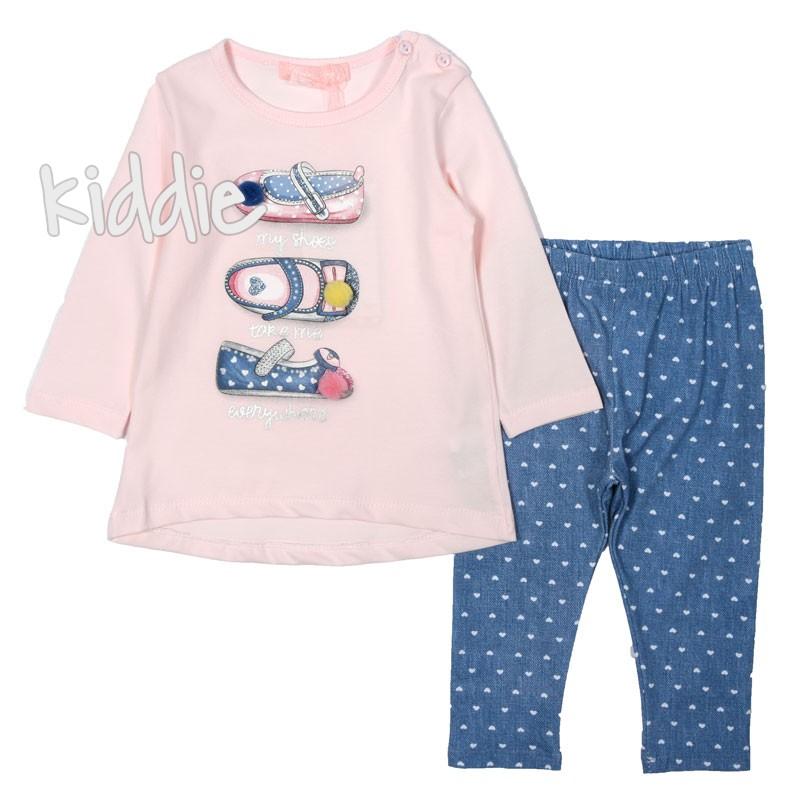 Бебешки комплект Hope Star, My shoes за момиче