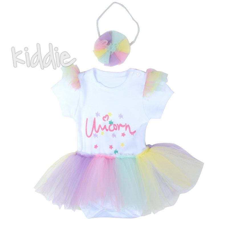 Бебешка боди рокля Wogi