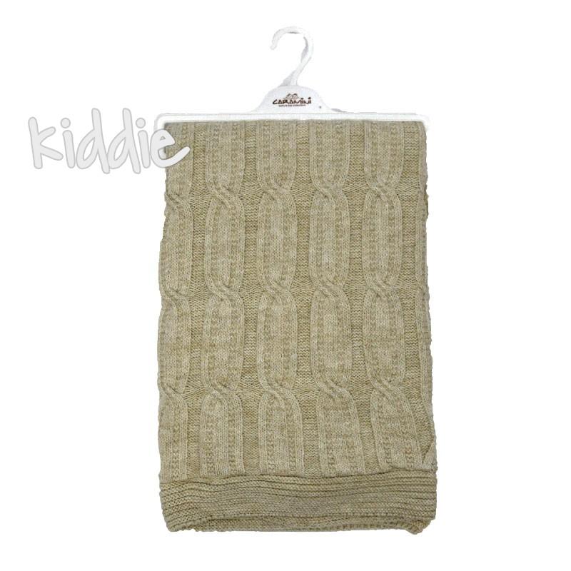Плетена пелена Bebitof с каракул