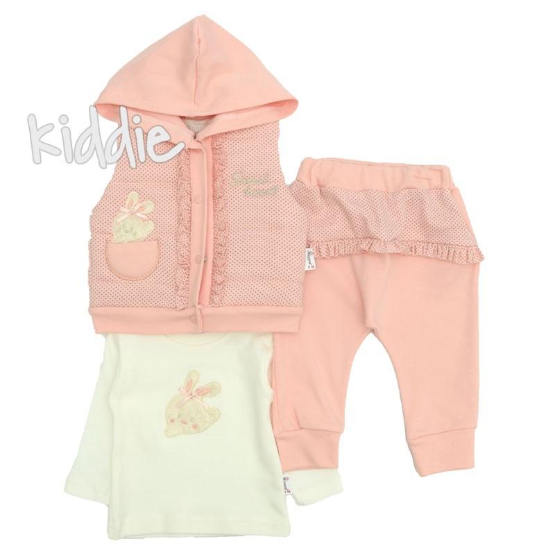 Бебешки комплект Sweet Bunny Hippil Baby за момиче