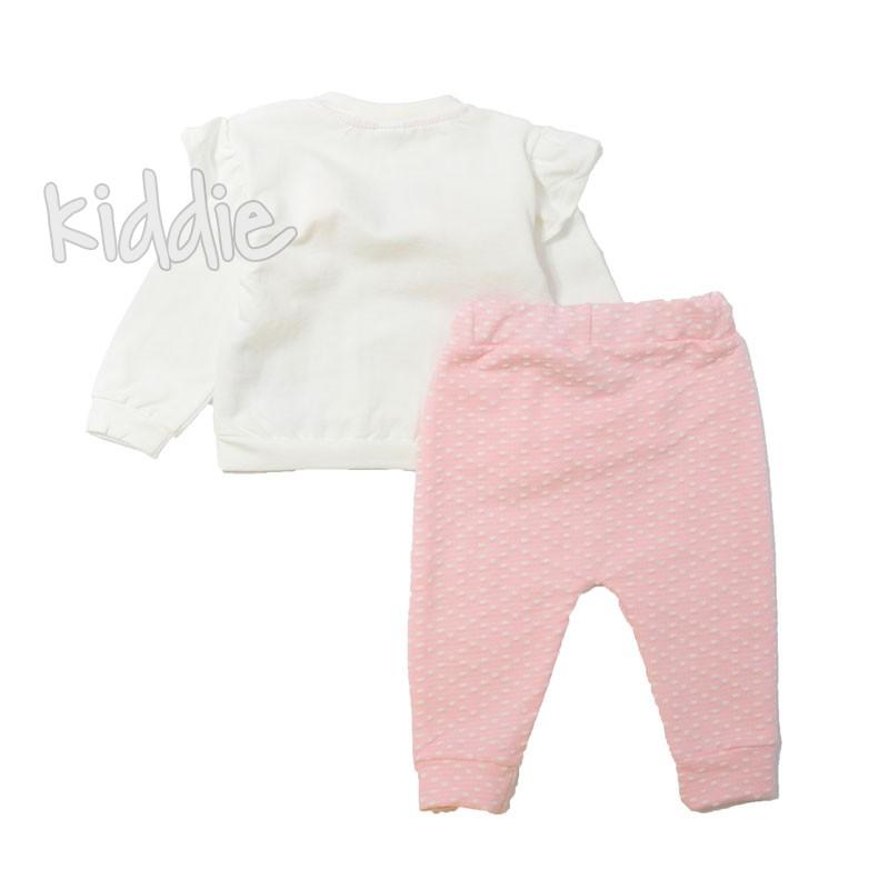 Бебешки комплект за момиче Коте, Bebico
