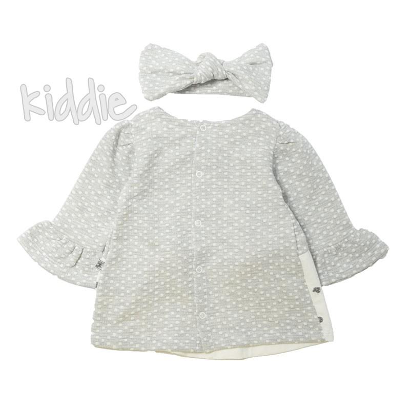 Бебешка рокля с лента Bebico