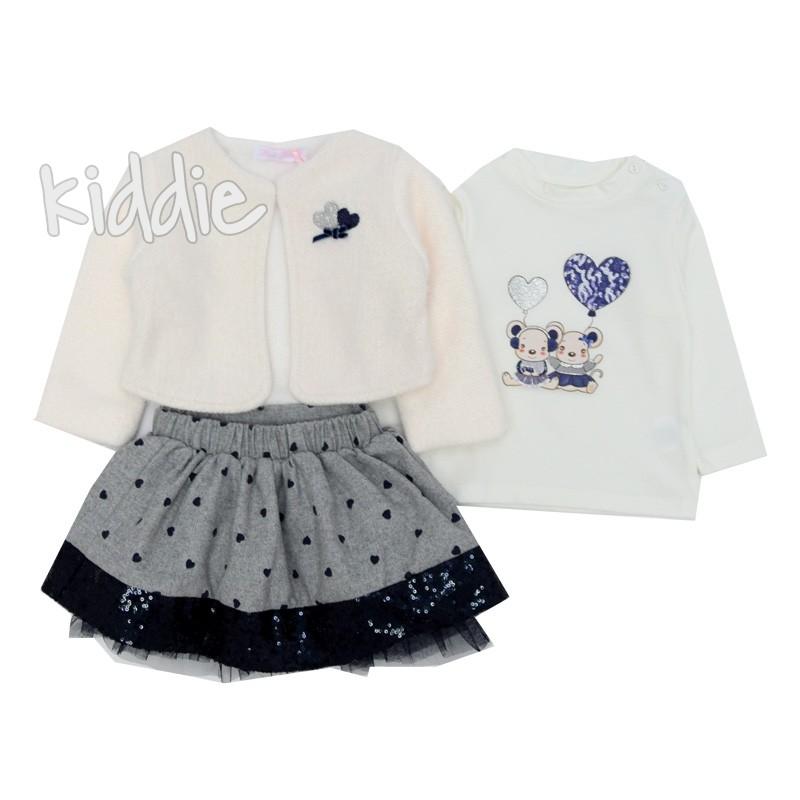 Бебешки комплект за момиче Pink Rabbit