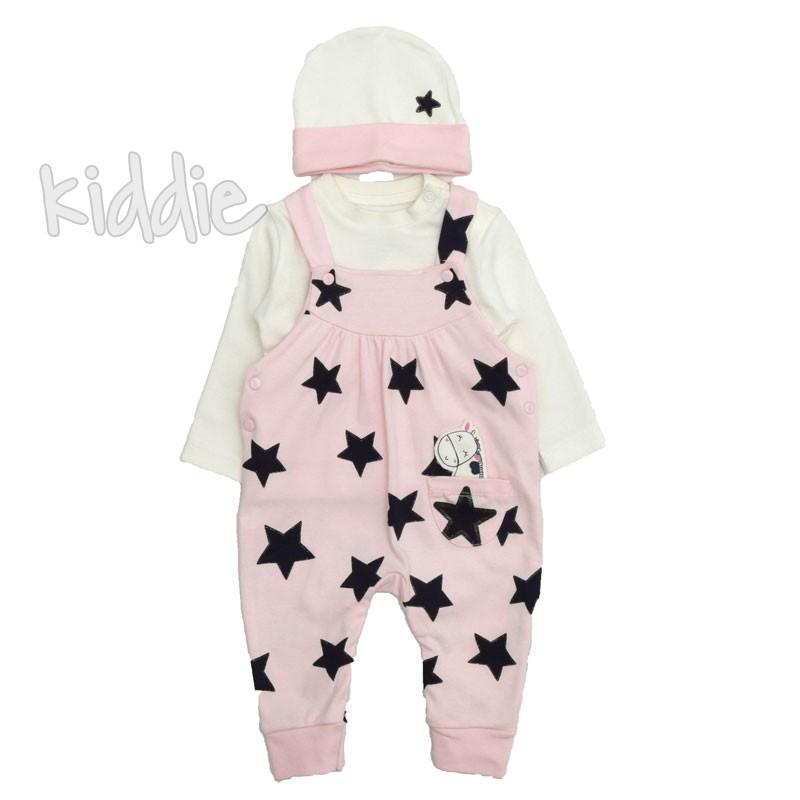 Бебешки гащеризон Tongs на звезди за момиче