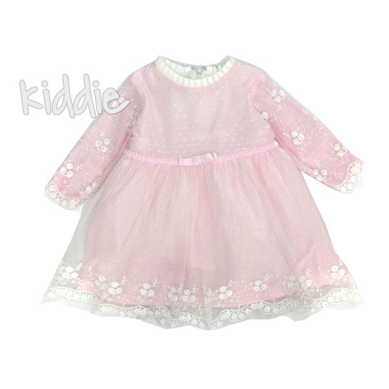 Бебешка рокля с дантела Onymio