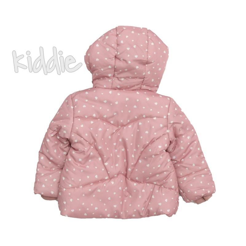 Бебешко есенно яке с поларен хастар за момиче Yes do kids