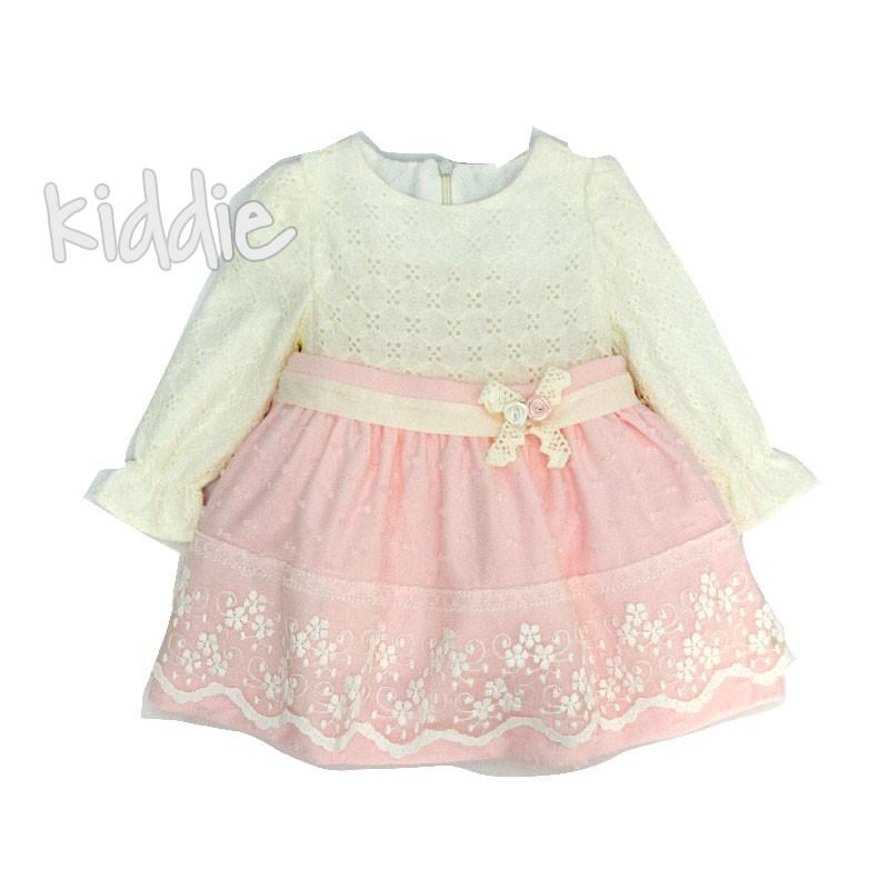 Бебешка рокля Onymio с рязана талия