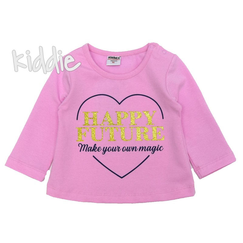 Бебешка блуза Happy Future Wanex за момиче